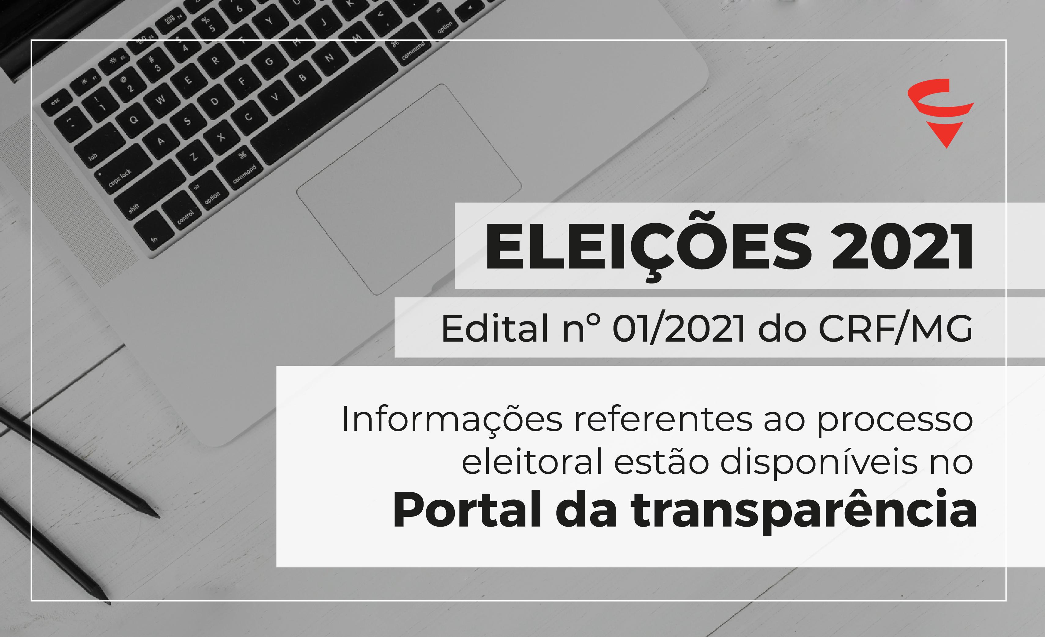 CRF/MG publica edital das Eleições 2021